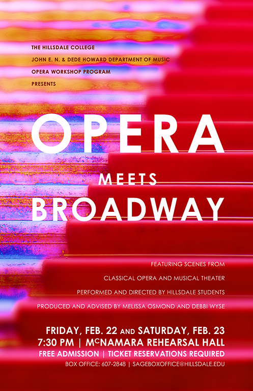 Hillsdale Opera Workshop 2013 poster